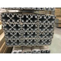 Quality 2020 4040 8080 4060 T Slot Aluminium Industrial Profile With Silver And Black Anodized for sale