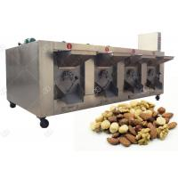 Gas Electric Pistachio Cashew Nut Roasting Machine , Commercial Henan GELGOOG Machinery ,