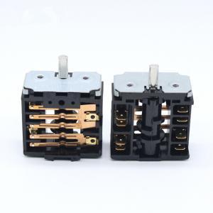 Quality Stove Bakelite Multi Position Rotary Switch , 6 Position Rotary Selector Switch for sale