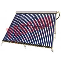 China Wall Mounted Heat Pipe Vacuum Tube Solar Collector Aluminum Alloy Material on sale