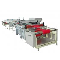 China 40Kw Double Color Non Woven Bag Making Machine Ensure Precision Printing on sale
