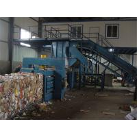 Quality 15KW - 37kW Turnover Box And Plastic Baling Machine , Waste Paper Baling Machine for sale