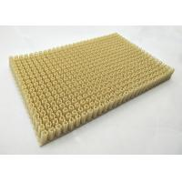Buy 20mm White / Green Artificial Ski Slope Engineering Plastic Turf 1m * 15m at wholesale prices