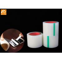 China Dust Remover Adhesive Protective Film 55mm 70mm Solvent Based  Adhesive Type for sale