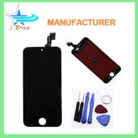 China for iPhone 5S Front Replacement Part Lcd Glass Tools Kit Screen Repair Black on sale