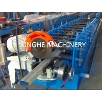 Quality Downspout Pipe Roll Forming Machine PLC Control And Hydraulic Station for sale