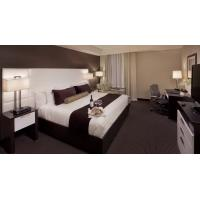 Buy Modern Style Leather Upholstery Wall Headboard Bedroom Furniture and TV cabinet at wholesale prices