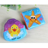 Quality Marine Life Reading Toys Soft EVA Infant Bath Book Early Learning Bath Book Toys for sale