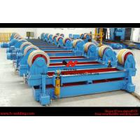 Quality Automatic Pipe Welding Rotator Vessel Welding Turning Bed With Rubber Roller for sale