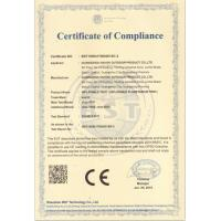GUANGZHOU SAYOK LTD Certifications