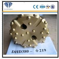 Quality Gold concave spherical  8 inch DTH drilling  tools of  DHD380  drill bit 219 mm for sale