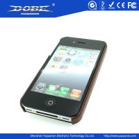 Quality Fashion PU protective Case with pattern for iPhone5 for sale
