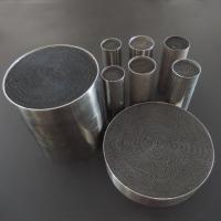 Quality Performance Catalyst Car Exhaust Catalytic Converter Honeycomb Metal Carrier for sale