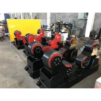 Buy cheap Remote Hand Control 20T Self Aligning Tank Turning Rolls / Pipe Rollers For Welding from wholesalers