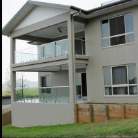 Buy cheap Modern Design glass railing for balcony with tempered glass from wholesalers
