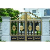 Quality Courtyard Gate garden plant accessories with Optional Model 120W 1200N 4.5m electric courtyard door carport for sale