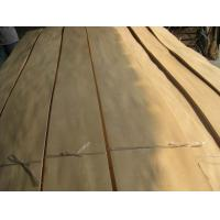 Quality Natural Russian Birch Wood Veneer Sheet Crown Cut for sale