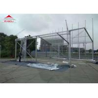 Quality Stable 20m Width Clear Pvc Tent , High Security Waterproof Event Tents for sale