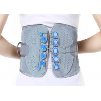 Quality Woven Fabric Waist Support Belt / Lumbar Support Brace Perfect Fit Body for sale