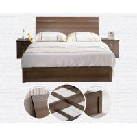 Buy Cheap style rent Apartment home furniture melamine plate bed 1.2m- 1.5m-1.8 m at wholesale prices