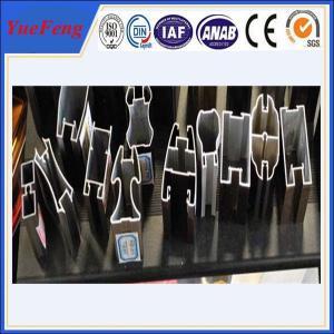 Quality OEM aluminum window accessories, 6063 aluminum sliding window track for sale
