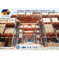 Quality Adjustable Storage Selective Pallet Racking System for sale