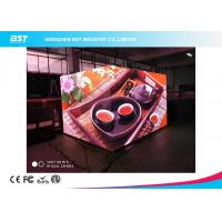 Quality HD Cube Indoor Advertising LED Display 4 Pixel Pitch Seamless Splicing For Restaurant for sale