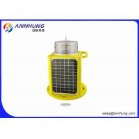 Quality IP68 AH-LS/C-5 Aircraft Warning Light 5 Color LED Solar Powered Marine Lanterns for sale