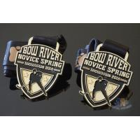 Quality Gifts Hockey Custom Sports Medals And Medallions Soft Eanemal With Logo And Ribbon for sale