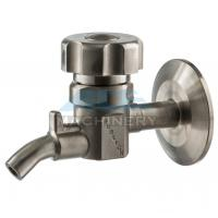 Buy Manual Aseptic Sample Valve Food Grade Stainless Steel Sanitary Wine Sample at wholesale prices
