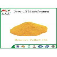 Quality C I Reactive Yellow 181 Reactive Dyes Yellow P-RRN Chemicals In Pad Dyeing for sale
