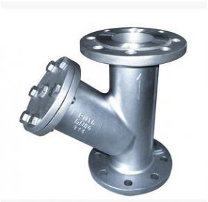 CF3M WCB API 598 Investment Castings Y Type Strainer Flange End DIN 2501 PN16
