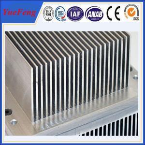 Quality Aluminium industrial profile extrusion, Aluminium fin radiator, aluminium heat sink for sale