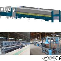 China Glass Pot Cover Glass Edging Machine , Flat Bent Glass Tempering Machine on sale