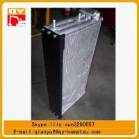 Quality excavator spare parts pc450 hydraulic oil cooler ,pc450 water tank for sale