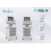 China non-surgical face lift equipment invasive neck tightening machine HIFU-f  machine face firming  treatment on sale