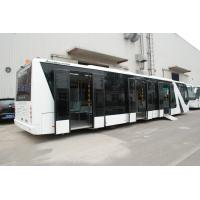 Quality Durable Comfortable Airport Coaches With 7100mm Wheel Base DC24V 240W for sale