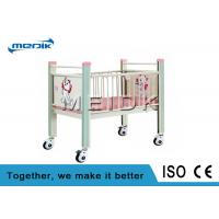 Quality Enameled Steel Side Rails Pediatric Hospital Beds Full Length Protection for sale