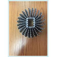 Quality 6063 T5 Silvery Industry Heat Sink Aluminum Profiles Aluminum Extrusion For Machines for sale