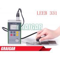 Quality Leeb331 NDT Instruments Ultrasonic Wall Thickness Gauge With Metal Case for sale