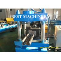 Quality Upright Shelf Frame Storage Rack Roll Forming Machine Profile Type for sale