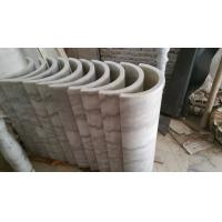 Marble Columns Guangxi White Marble Doric Columns China Carrara White Marble Pillars for sale