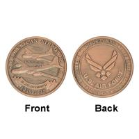 Army Air Force B - 17 Bomber  Airpower Commemorative Silver Coins Custom for sale