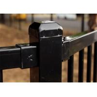 Quality Customized Powder Coating Steel Fence and Steel Gate Designs for sale