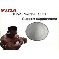 Quality Pure Sports Nutritional Supplement Powder BCAA Branched Chain Amino Acid For Bodybuilding 69430-36-0 for sale