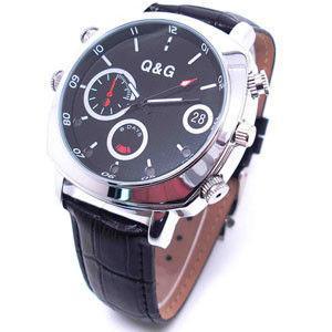 Quality Good spy camera watch / hidden camera watch HD 1080P waterproof IR night version for sale