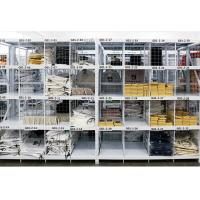 Quality Four Tier Q235 Steel Pallet Shelving With Wire Decking For Garment for sale