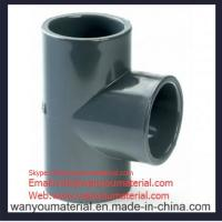 Quality Sell High Quality PVC Pipe Fitting-PVC Plain Tee info@wanyoumaterial.com for sale