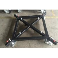 Quality Steel Material Lighting Truss Accessories Black Truss Basement For Outdoor Activity for sale