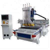 Customized Woodworking CNC Machine 1325 ATC Cnc Router Machines Vacuum Table